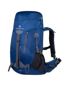 Volkano Glacier 45L Hiking Backpack - Blue