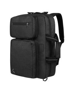 Volkano Solitude Hybrid Laptop Briefcase Black.
