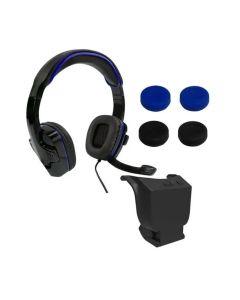 Sparkfox PlayStation 4 Headset Gamer Combo - Black