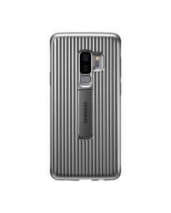 Samsung Galaxy S9+ Protective Stand Cover Case - Silver