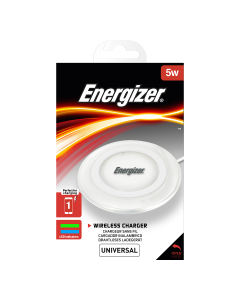 Energizer 5W Wireless Charging Pad + Micro-USB Cable - White