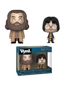Funko Pop! Vynl: Harry Potter - Rubeus Hagrid & Harry Potter 2Pack