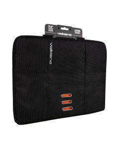"Volkano Latitude Laptop Sleeve 13"" to 14.1"" - Black/Orange"