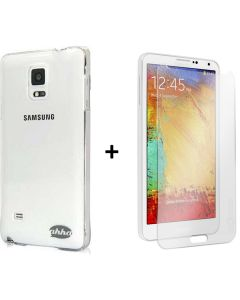 Ahha Pozo Case & Tempered Glass Screen Protector Samsung Galaxy Note 4