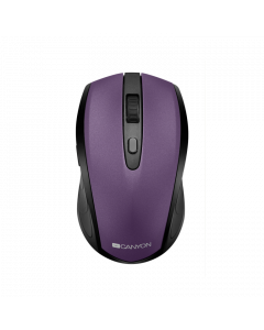 Canyon MW-8 2 in 1 Wireless Optial Mouse -Violet