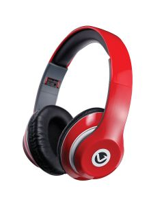 Volkano Falcon series Headphones with mic - Red